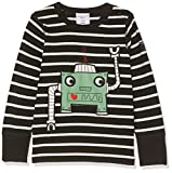 Polarn O. Pyret Baby Black Stripe T-Shirt