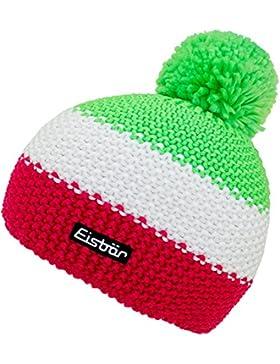 Eisbär Sombrero De Bobble Para Niño Gorra Con Borla Gorro Borlas Punto Lana Invierno Productos Marca Rayas Niños...