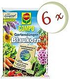 Oleanderhof® Sparset: 6 x COMPO Gartendünger Blaukorn® NovaTec®, 7,5 kg + gratis Oleanderhof Flyer