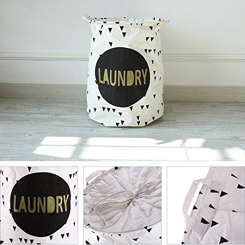 CALISTOUS faltbar Stoff Baumwolle Desktop Aufbewahrungsbox Kollektion Container Vision Box Laundry -