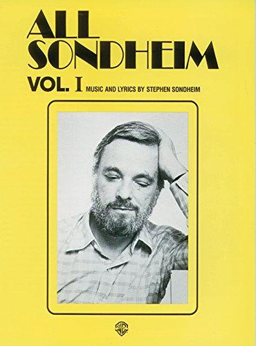 All Sondheim, Vol 1: Piano/Vocal (Essential Box Sets)