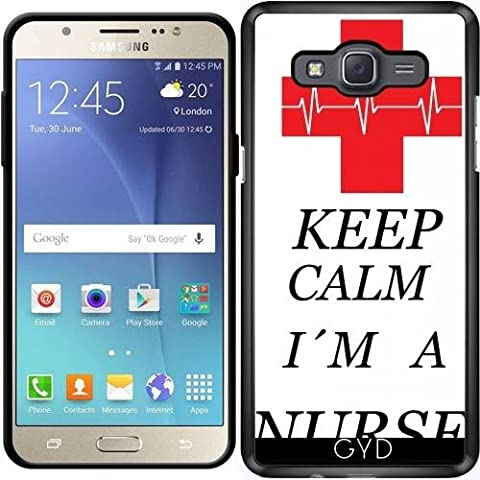 Coque pour Samsung Galaxy J7 2016 (SM-J710) - Infirmière Médecin