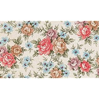 Fablon FAB10224 45 cm x 2 m Romance Floral Roll - Multi-colour