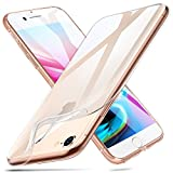 ESR Coque iPhone 8, Coque iPhone 7, Etui Transparent Gel Silicone TPU Souple, Bumper...