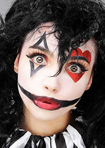 ic Clown Harlekin Make-Up Kit ()