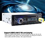 KKmoon Universale In-Dash FM Aux Ingresso Auto Stereo Radio Lettore CD DVD MP3 Lettore con Porta SD/USB