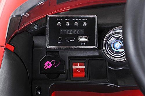 RC Auto kaufen Kinderauto Bild 6: Actionbikes Motors Kinder Elektroauto Mini Cooper Eva Reifen Ledersitz Kinderfahrzeug Kinderauto in vielen Farben (Rot)*