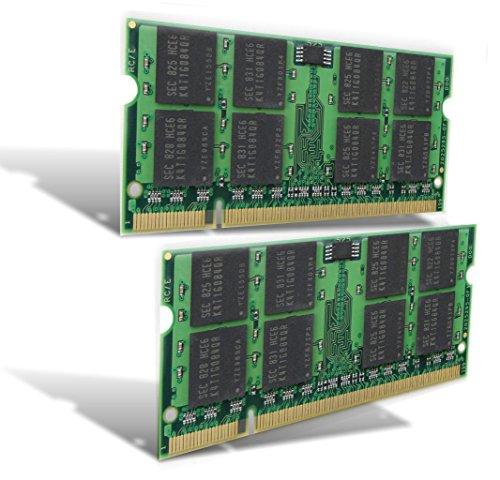 2510p Notebook Pc (ANTARRIS 4Gb 2X 2Gb Ram Hp Compaq Business Notebook 2510p DDR2 667Mhz Pc-5300)