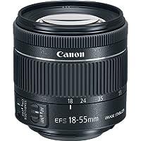 """EF-S 18-55mm f / 4-5.6 IS STM Lens (empaque a granel- Caja blanca)""""Nueva versión"""""""