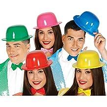 Sombrero Bombín de plástico colores surtidos 7aaa64e100ce