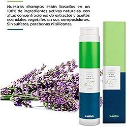 Champú Natural Hidratante Fortifizante Con Camomila   Sin Sulfatos, Parabenos y Siliconas   Para el Cabello de Hombres y Mujeres   Sin Detergentes Ni Químicos