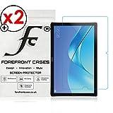 Forefront Cases® Huawei MediaPad M5 10 10.8 / M5 10 Pro [HIGH DEFINITON HD KLARHEIT] Displayschutzfolie Schutzfolie Screen Protector Folie (Packung mit 2)