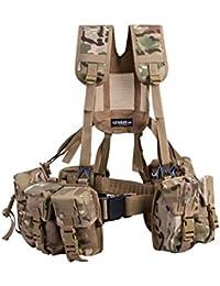 Army Military Combat Full Webbing Belt Set System New Multicam Multi Cam