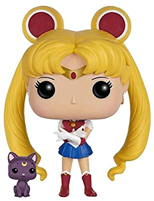 Sailor Moon Sailor Moon & Luna Vinyl Figure 89 Figurine de collection