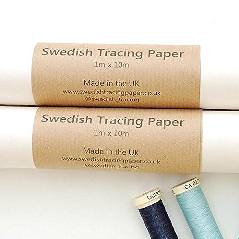 Swedish papier calque pour couture 1m de large–Rouleau de