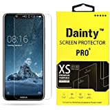 Dainty™ Tempered Glass Screen Guard Gorilla Protector for Nokia 5.1 Plus (Transparent)