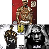 50 Cent: 3 Studio Albums CD Collection (Get Rich or Die Tryin' / Massacre / Curtis)