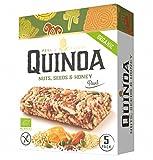 5 x 25grs Barritas Quinoa, Frutos secos, Semillas y Miel. Organico y Sin Gluten