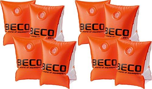 4 Paar Beco 09703 Schwimmhilfen Doppelkammersystem, Körpergewicht 15 bis 30 kg