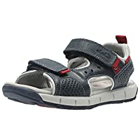 Clarks Jolly Wild Junior Boys Navy Leather Sandals 13 G Navy