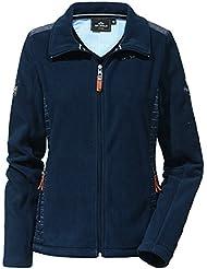 HV Polo–Chaqueta polar chaqueta/jinete Ledoux–Polar/–Chaqueta de equitación, color Capri Blue, tamaño S