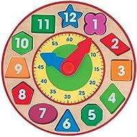 Melissa & Doug 18593 - Reloj para clasificar formas