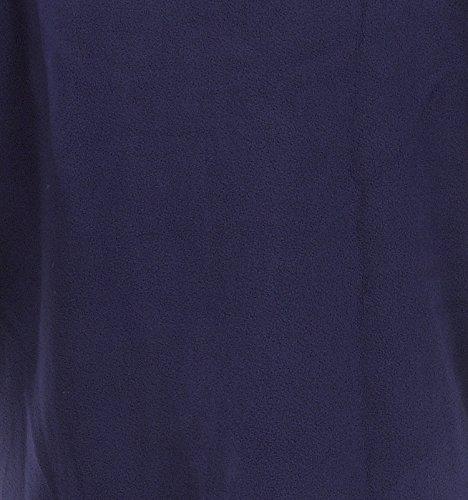 Mesdames SLENDERELLA en polaire antibouloches Peignoir à fermeture Éclair Motif floral Détail (Violet ou Framboise) Violet - Violet