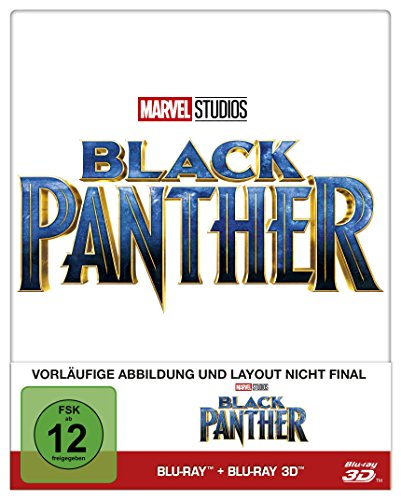 Black Panther (Steelbook) [Blu-ray] [Limited Edition] (Blu-ray)
