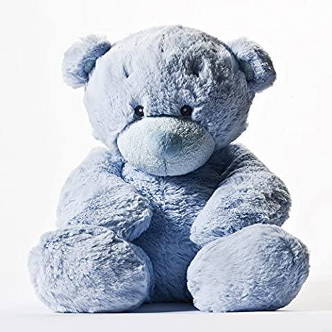 Aurora Baby - Bonnie, oso bebé de peluche, 33 cm, color azul (12954)