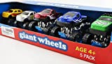 Monster Truck Set of 5 Giant Wheels Collection