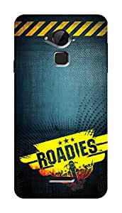 Roadies Hard Case Mobile Cover for Coolpad Note 3