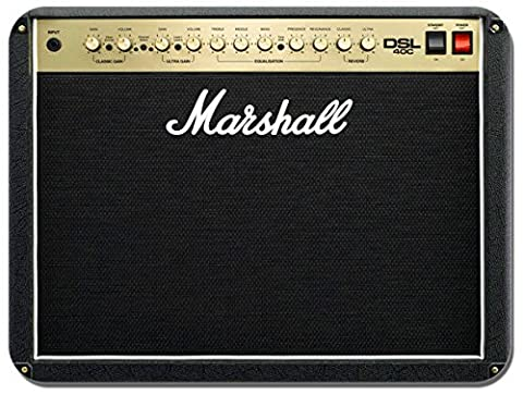 Classic Guitar Amplifier Mouse Mat. Retro Novelty Music Amp Computer Mouse pad