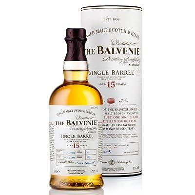 Balvenie Single Barrel 15 Year Old Single Malt Scotch Whisky, 70cl