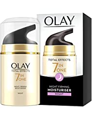 Olay Total Effects 7 in one Anti Ageing Night Firming Moisturiser, 50 ml