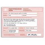 (20 x) Einladungskarten Geburtstag Strafzettel Auto Polizei Parken Einladungen
