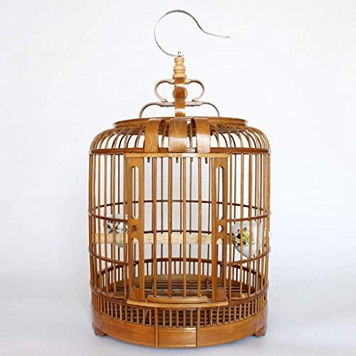 XWYGW Haustierbett Vogelkäfig Käfig Indoor-Vogelkäfig-Seed Catcher, Geeignet for Parrot/Vogel/Kleiner Vogel Durable Klassische Papageien-Käfig im Freien Flug Cage-Upgrade -