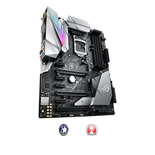 Get ASUS Intel 1151 Socket Z370 Chipset Strix E D4 ATX Motherboard – Black on Line
