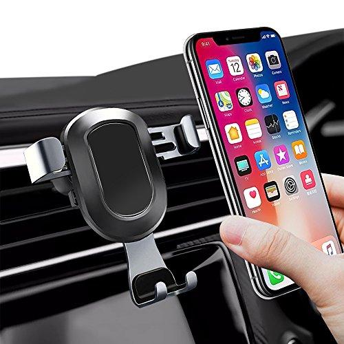 opamoo Handyhalterung Auto, 360 Grad KFZ Handy Halterung Lüftung Schwerkraft Handyhalter Kompatibel für iPhone X / iPhone 8,Galaxy S9 /S8, Samsung Note 9