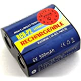 Batterie compatible pour Panasonic 223, CR-P2, CRP2P, CR-P2S, DL223A, EL223AP, K223LA