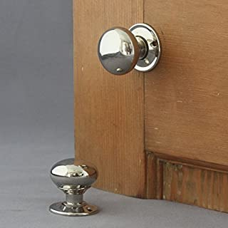 Georgian Small Nickel Cottage Door Knobs