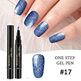 MERICAL 1 Pc 3 en 1 Etape Nail Gel Vernis À Laque Stylo Vernis Une Etape Nail to Use...