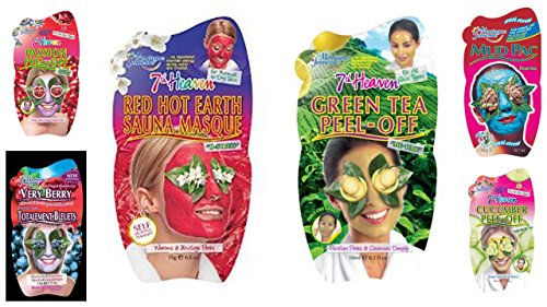 montagne-jeunesse-facial-mask-bundle-includes-1-sauna-masque-1-mud-pac-1-cucumber-peel-off-mask-1-gr