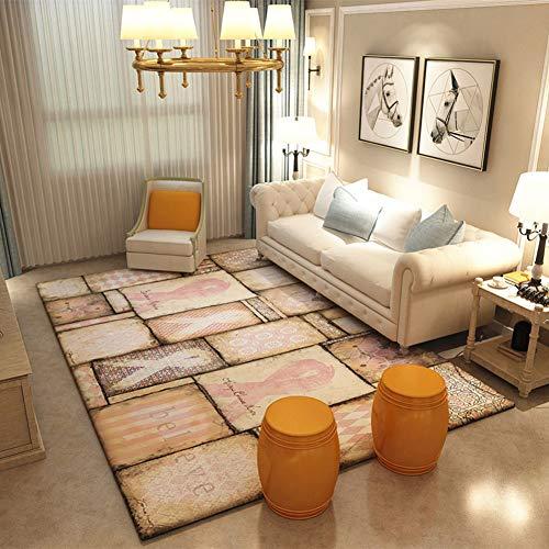 Tappeti grandi plaid nordico morbido flanella 3d stampato tappeti tappetino antiscivolo living room decor,200×300