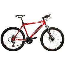 Cloot Bike - Bicicletas Mountain bike 26 - MTB - SL Sport 2.1, 21 velocidades, Horquilla Suspensión, Frenos disco., Talla: de 172 a 185 Bici de montaña