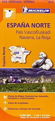 Mapa Regional País Vasco. Euskadi, Navarra, La Rioja (Carte regionali) por Vv.Aa