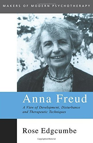 Portada del libro Anna Freud: A View of Development, Disturbance and Therapeutic Techniques (Makers of Modern Psychotherapy) by Rose Edgcumbe (2000-04-20)
