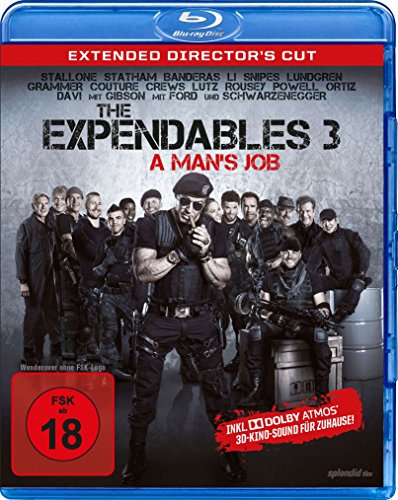 Bild von The Expendables 3 - A Man's Job - Extended Director's Cut - Dolby Atmos [Blu-ray]
