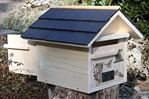 boite aux lettres bois st hubert prestige 2 portes cuisine maison. Black Bedroom Furniture Sets. Home Design Ideas