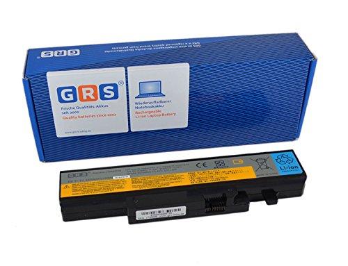 GRS Notebook Akku für Lenovo IdeaPad B560, Y460, V560, Y560 , ersetzt: LO9N6D16, L09N6D16, 57Y6440, Laptop Batterie 4400mAh, 11.1V - Y560-akku