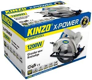 Kinzo 71800 Scie circulaire 230 V 1200 W